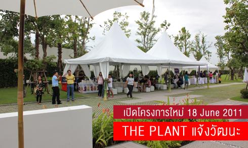 THE PLANT แจ้งวัฒนะ บ้านเดี่ยว เปิดโครงการใหม่