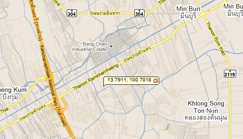 The Wayra Google Map ทาวน์โฮม บ้านจัดสรร รามคำแหง
