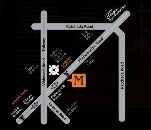 รีวิว คอนโด รถไฟฟ้า รถใต้ดิน MRT สวนจตุจักร BTS ลาดพร้าว M Ladprao