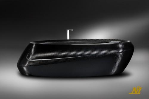 อ่าง อ่างอาบน้ำ คาร์บอนไฟเบอร์ อ่างน้ำ Bath Tub Corcel
