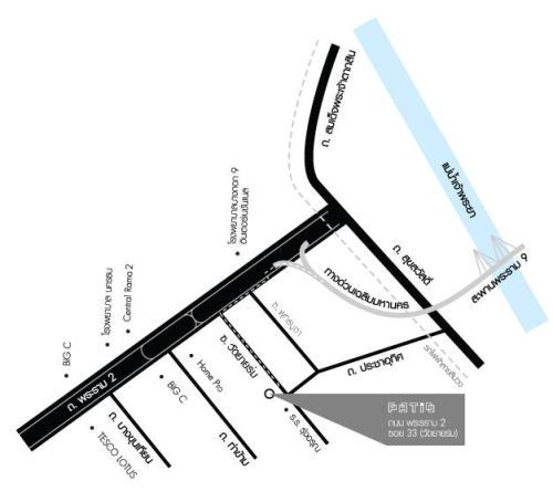 แผนที่ โครงการ พาทิโอ ปาติโอ พระราม 2 วัดยายร่ม ซอย
