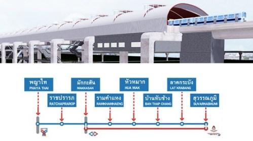 Airport Link สถานีบ้านทับช้าง