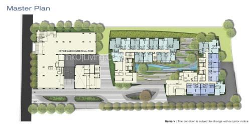 Master Plan Ceil Sansiri Condominium