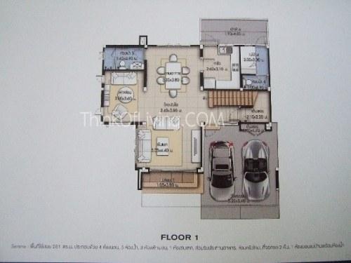 แบบบ้าน นาราสิริ โยธินพัฒนา Narasiri ลาดพร้าว รามอินทรา เอกมัย แสนสิริ 3 ชั้น บ้านเดี่ยว โครงการใหม่