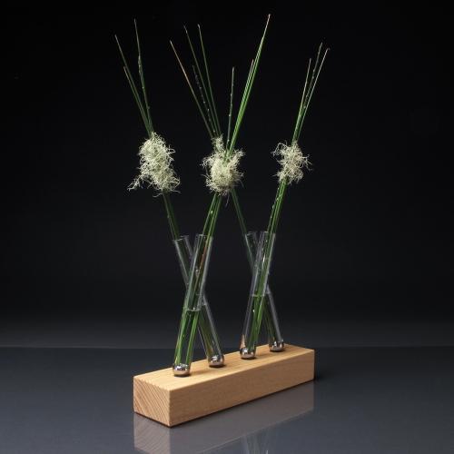 แจกัน หลอดแก้วแจกัน แจกันหลอดแก้ว ปรับมุม perhacs โต๊ะอาหาร แต่งโต๊ะ แจกันดอกไม้