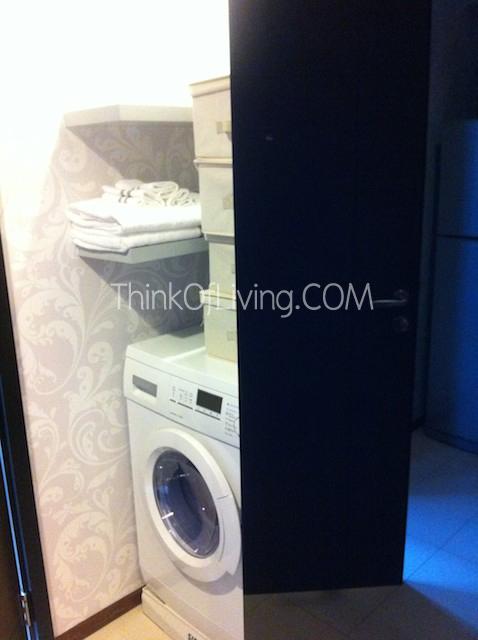 คอนโด ซีล แสนสิริ ที่วางเครื่องซักผ้า