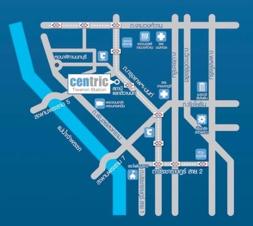 แผนที่ The Centric