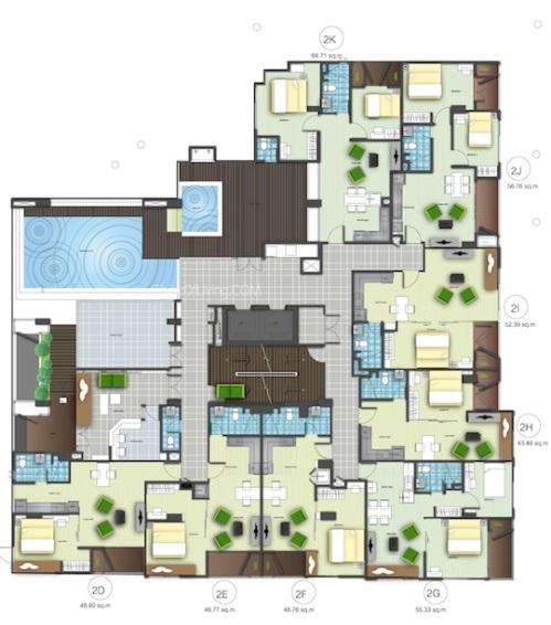 Tree Condo สุขุมวิท 42 Floor 2