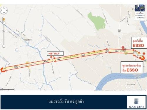 แผนที่การเดินรถ ฮาบิเทีย 345