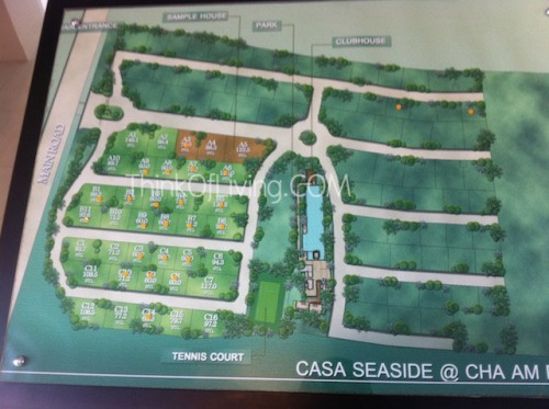 Casa Seaside ผังโครงการ