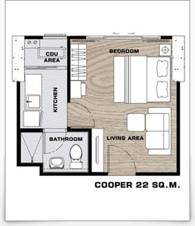 คอนโด The Tree Interchange ห้อง Cooper