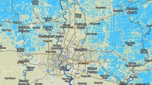 สถานการณ์น้ำท่วมล่าสุดจาก Thai Flood Monitoring