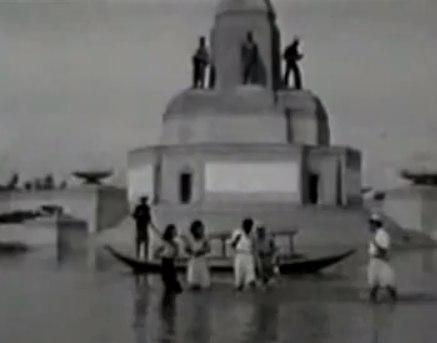 น้ำท่วมกรุงเทพ กทม 2485 อนุสาวรีย์ชัย