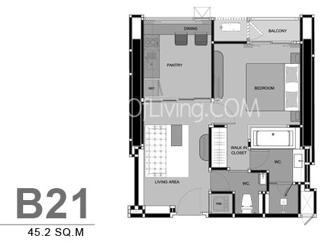 RHYTHM สุขุมวิท 44/1 Unit Plan