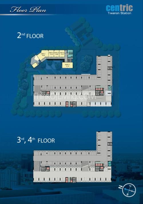 คอนโด Centric MRT ติวานนท์ - Floor 2nd