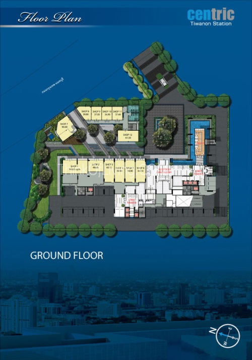 คอนโด Centric MRT ติวานนท์ - Floor G