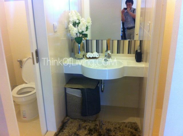 คอนโด Centric MRT ติวานนท์ ห้องน้ำ 3 Function